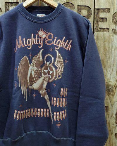 """画像1: TOYS McCOY -MILITARY SWEAT SHIRT 8th AF  """"MIGHTY EIGHTH""""-"""