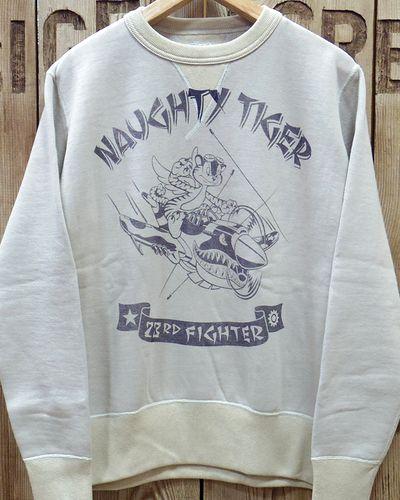 """画像2: TOYS McCOY -MILITARY SWEAT SHIRT 23rd FG """"NAUGHTY TIGER""""-"""