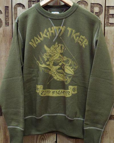 """画像4: TOYS McCOY -MILITARY SWEAT SHIRT 23rd FG """"NAUGHTY TIGER""""-"""
