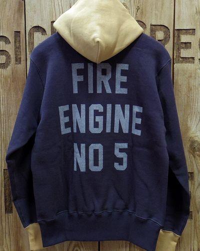 """画像3: TOYS McCOY -HALF ZIP SWEAT PARKA """"FIRE ENGINE NO 5""""-"""