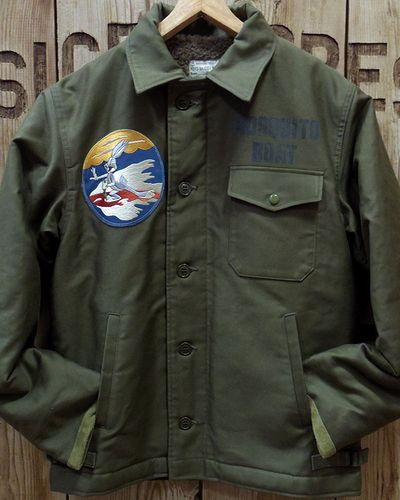"""画像4: TOYS McCOY -A-2 DECK JACKET CIVILIAN MODEL """"MOSQUITO BOAT""""-"""