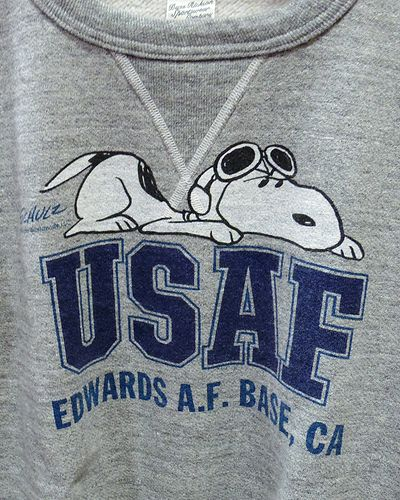 "画像3: BUZZ RICKSON'S × PEANUTS -SET-IN CREW SWEAT ""USAF""-"