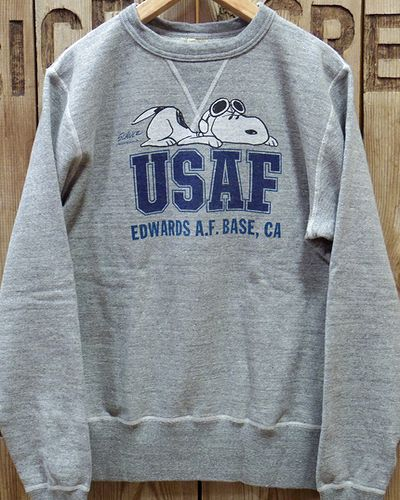 "画像2: BUZZ RICKSON'S × PEANUTS -SET-IN CREW SWEAT ""USAF""-"