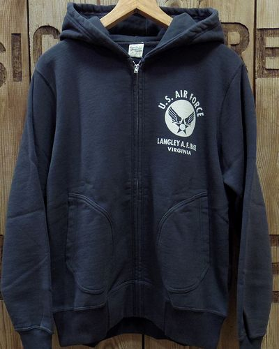 "画像4: BUZZ RICKSON'S × PEANUTS -FULL ZIP SWEAT PARKA ""U.S. AIR FORCE""-"
