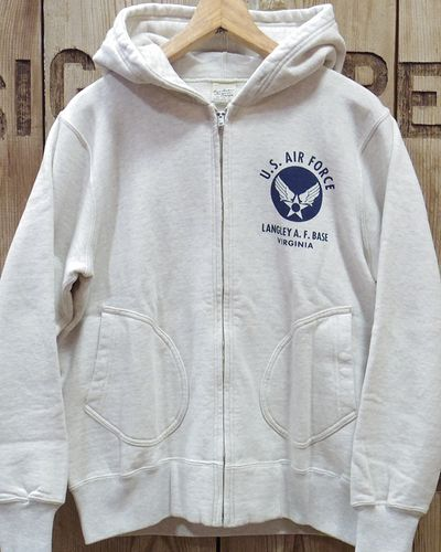 "画像2: BUZZ RICKSON'S × PEANUTS -FULL ZIP SWEAT PARKA ""U.S. AIR FORCE""-"
