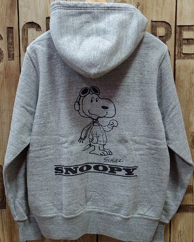 "画像3: BUZZ RICKSON'S × PEANUTS -FULL ZIP SWEAT PARKA ""U.S. AIR FORCE""-"