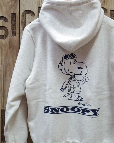 "画像1: BUZZ RICKSON'S × PEANUTS -FULL ZIP SWEAT PARKA ""U.S. AIR FORCE""-"
