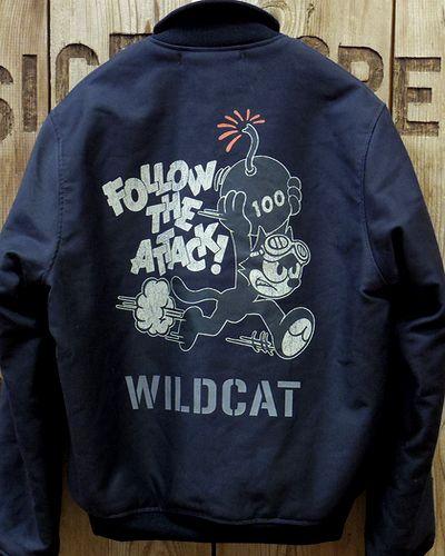 "画像5: TOYS McCOY -NAVAL AVIATION GROUND CREW DECK JACKET ""WILD CAT""-"