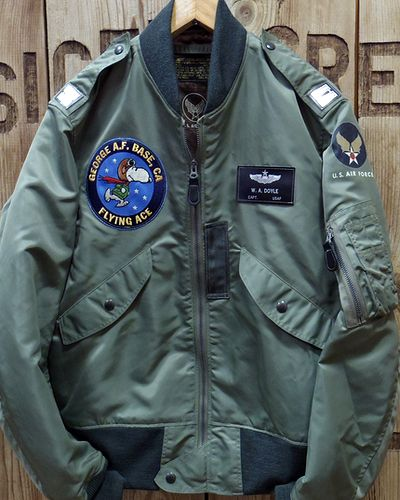 "画像2: BUZZ RICKSON'S × PEANUTS -""TYPE L-2B"" FLYING ACE-"