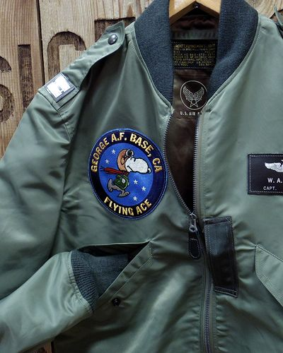 "画像3: BUZZ RICKSON'S × PEANUTS -""TYPE L-2B"" FLYING ACE-"
