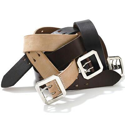 """画像1: Pherrow's """"SBB2"""" UK Saddle Leather BELT"""