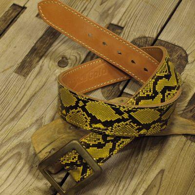 """画像1: """"Gold Python BELT"""""""
