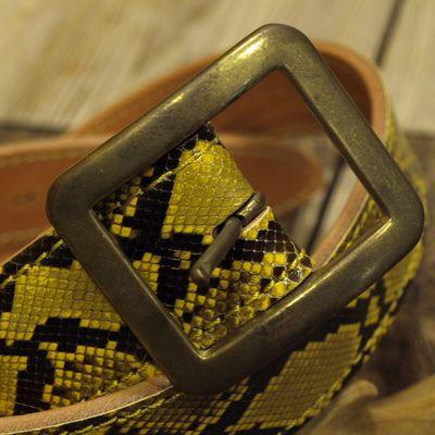"""画像3: """"Gold Python BELT"""""""